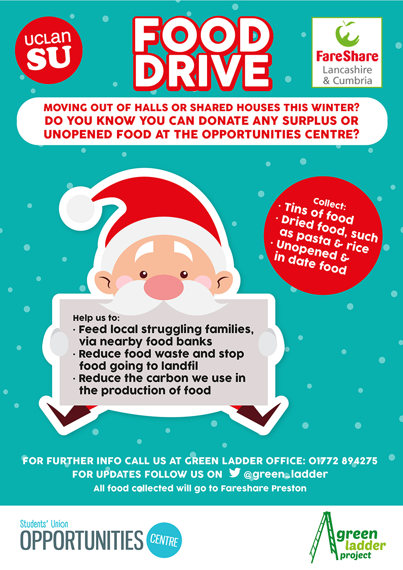 christmas food drive poster - photo #3